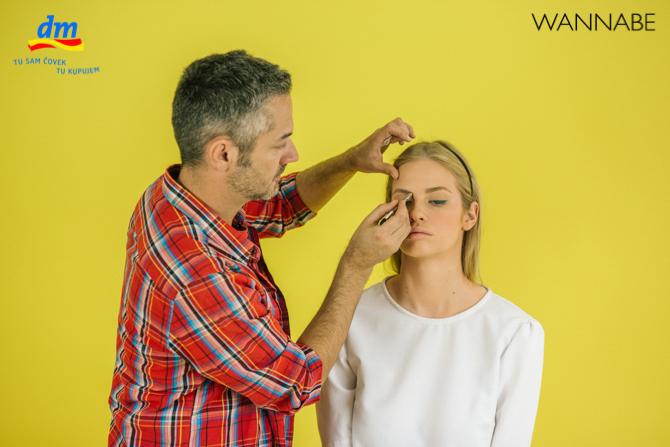 "DM make up tutorijal Aleksandra Djikic Wannabe magazine 8 dm look ""Beach Party"" tutorijal: Šminka"