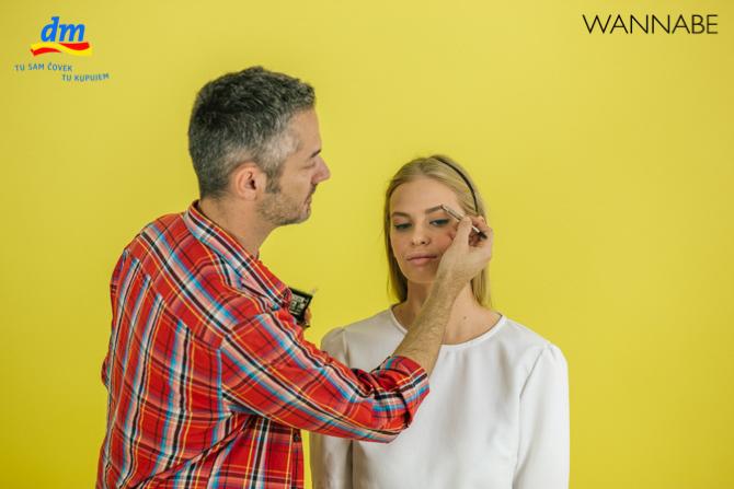 "DM make up tutorijal Aleksandra Djikic Wannabe magazine 9 dm look ""Beach Party"" tutorijal: Šminka"