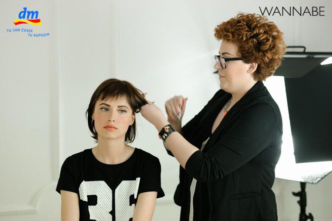 DM style to go Wannabe magazine tutorial 271 dm look Style to go tutorijal: Napravi frizuru za 5 min!