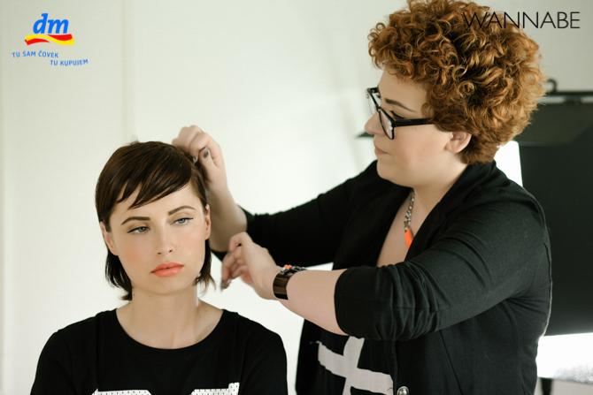 DM style to go Wannabe magazine tutorial 281 dm look Style to go tutorijal: Napravi frizuru za 5 min!