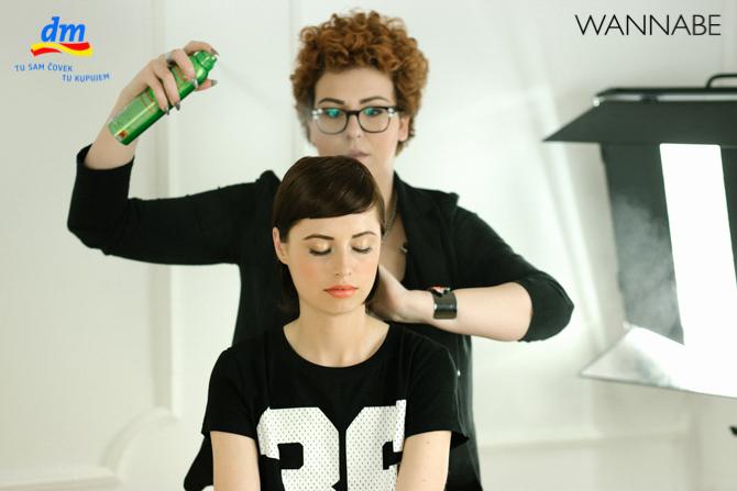 DM style to go Wannabe magazine tutorial 361 dm look Style to go tutorijal: Napravi frizuru za 5 min!