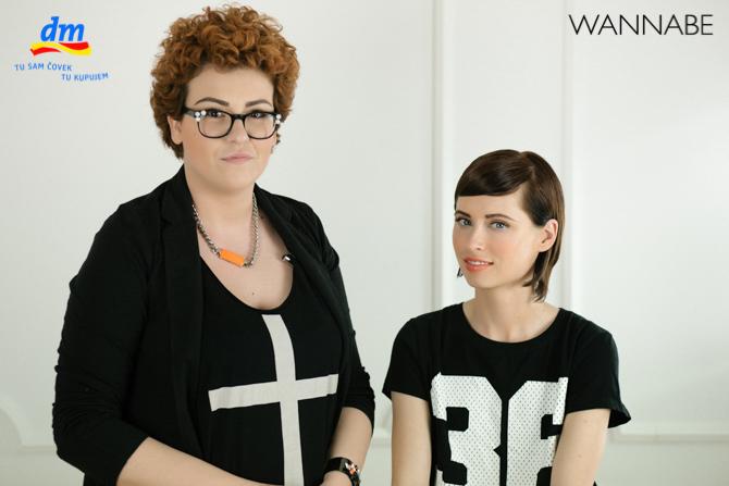 DM style to go Wannabe magazine tutorial 371 dm look Style to go tutorijal: Napravi frizuru za 5 min!