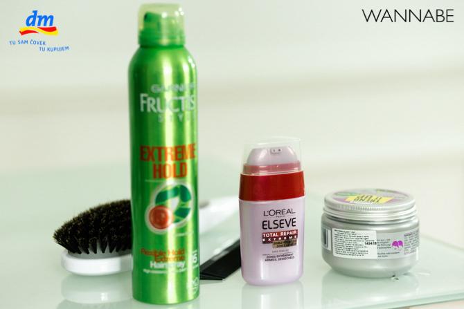 DM style to go Wannabe magazine tutorial 381 dm look Style to go tutorijal: Napravi frizuru za 5 min!