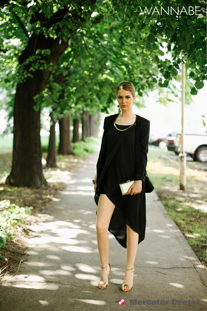 Merkator modni predlog Wannabe magazine 12 Mercator modni predlog: Elegantna u crnom