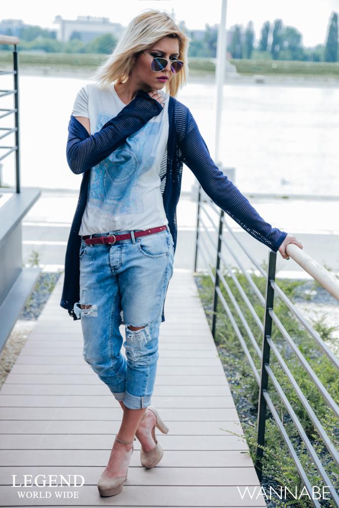 Modni predlog Legend Katarina 14 Legend modni predlog: Kombinacija idealna za opuštenu šetnju