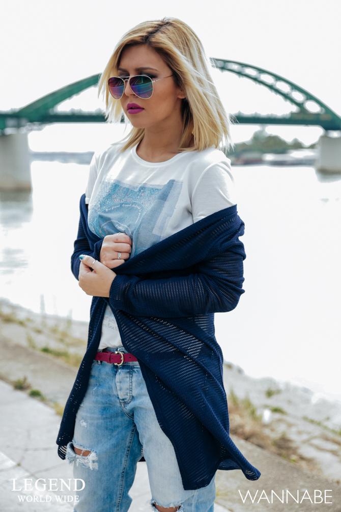 Modni predlog Legend Katarina 5 Legend modni predlog: Kombinacija idealna za opuštenu šetnju