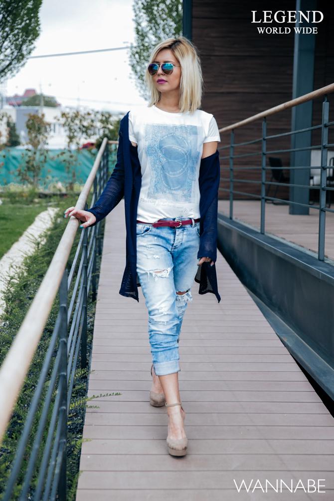 Modni predlog Legend Katarina 8 Legend modni predlog: Kombinacija idealna za opuštenu šetnju