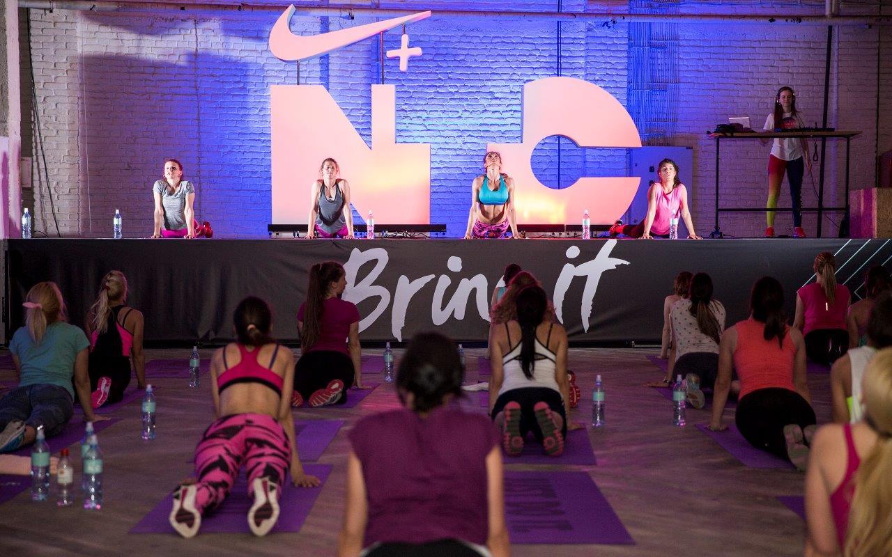 Nike grupni trening Održan veliki otvoreni NIKE trening za žene