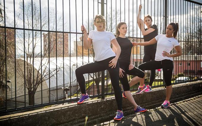 Poznate devojke u Nike kampanji Otvoreni ženski trening na Olimpu