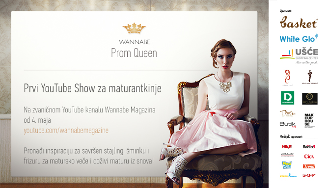 Prom Queen W670 04 05 Prom Queen: Večeras počinje prvi You Tube šou za maturantkinje