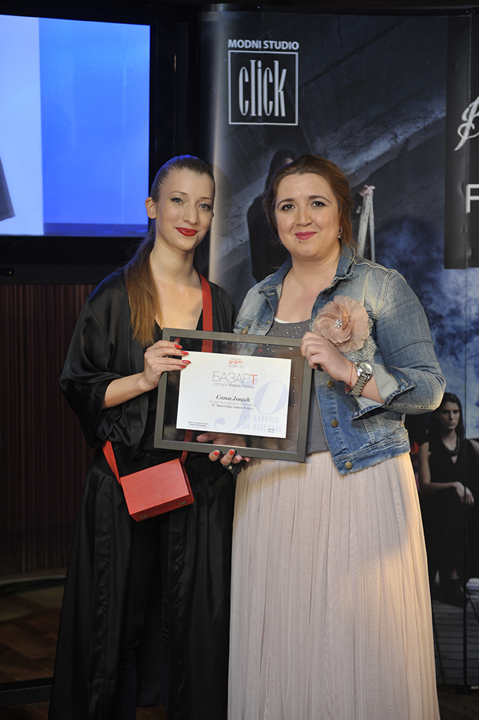 Sonja Jocic i Ivana Filipovic 37. Black n Easy Fashion Week – Awards Night