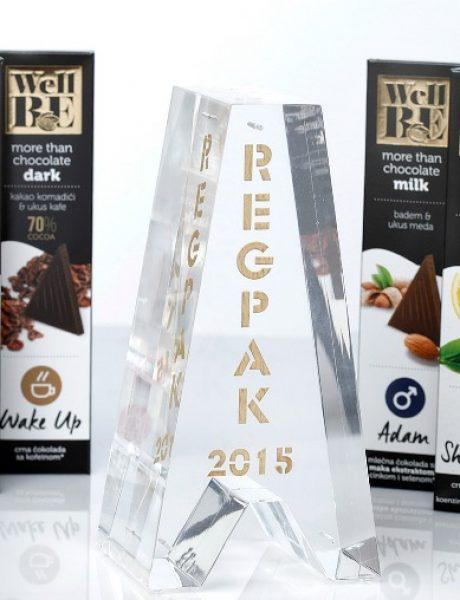 WellBE čokolade nagrađene za najbolju ambalažu na regionalnom tržištu