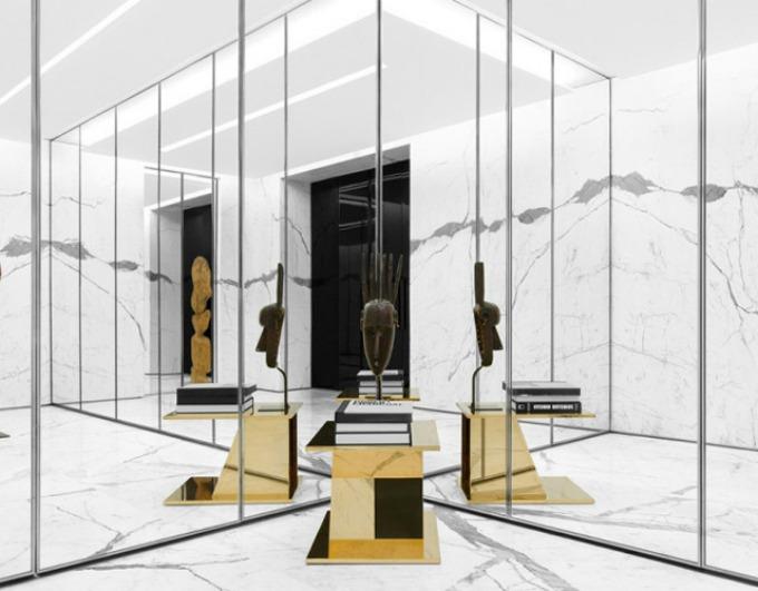 butik yves saint laurent 1 Novi izgled butika Yves Saint Laurent u Parizu