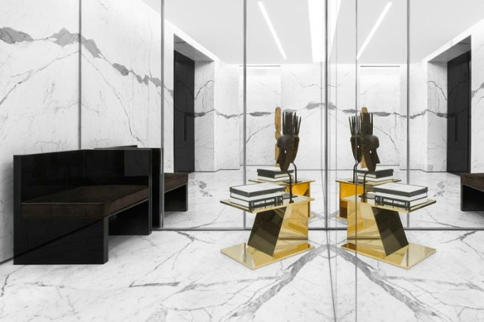 butik yves saint laurent 2 Novi izgled butika Yves Saint Laurent u Parizu
