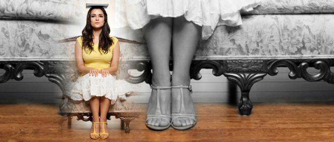 dama u cipelama Kako da budeš ženstvena?