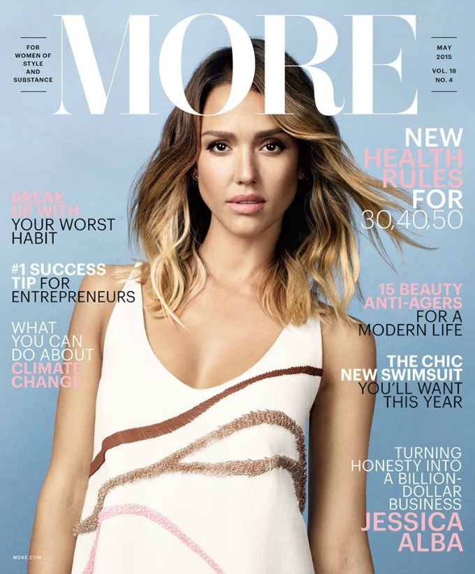 dzesika alba 1 Prelepa Džesika Alba na naslovnici magazina More