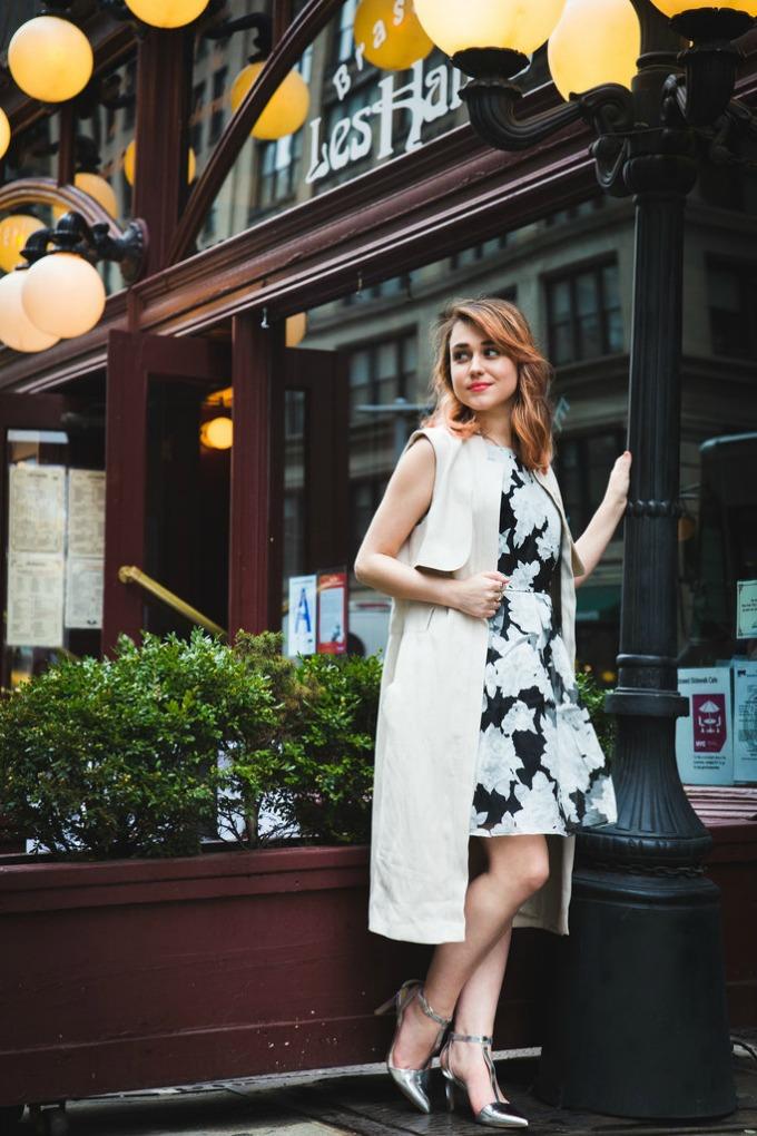 haljina sa prednjim kopcanjem 6 Kako da jednu haljinu ponesete na isti način u nekoliko varijanti