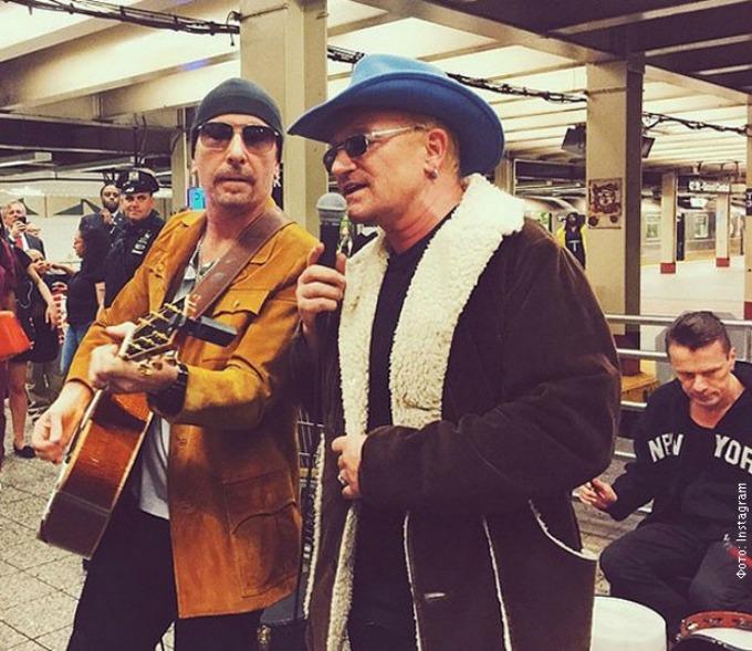 koncert u metrou Grupa U2 svirala u metrou