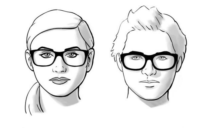 naocare za vid 3 Kako da odaberete pravi oblik naočara za vaš oblik lica