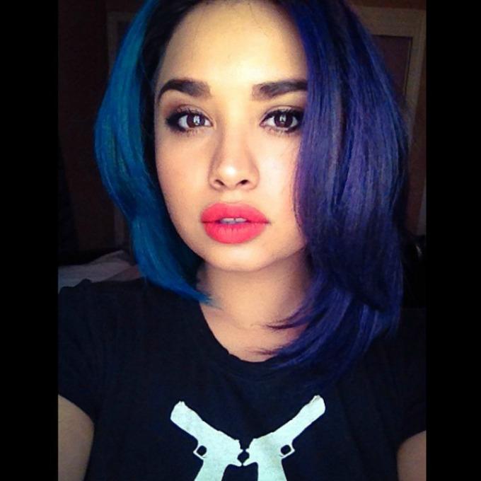 pola pola obojena kosa 1 Novi trend u svetu: Pola pola obojena kosa