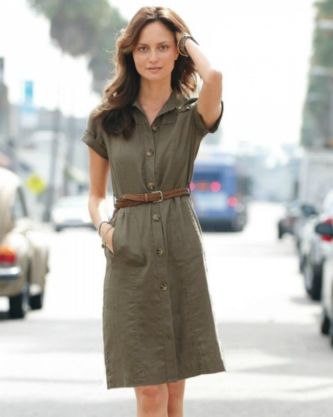 poslovna mantil haljina Vodič kroz poslovni stil: Letnje haljine