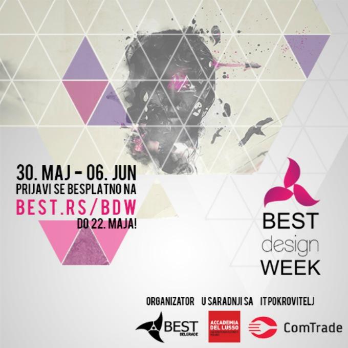 tekst dizajn BEST design week