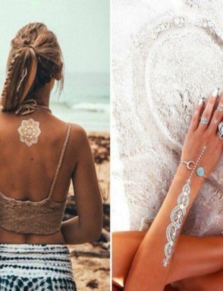 Zlatne tetovaže kao najupečatljiviji modni detalj