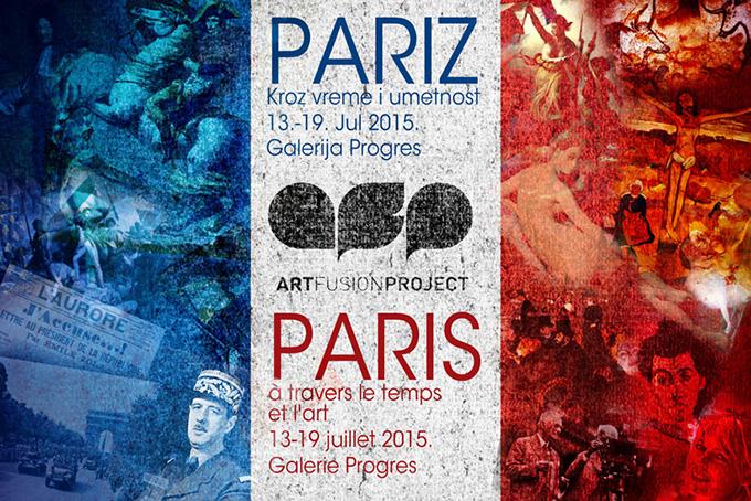 AFP Paris Art Fusion No.5: Pariz kroz vreme i umetnost