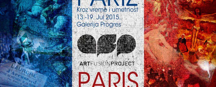 """Art Fusion No.5: """"Pariz kroz vreme i umetnost"""""""