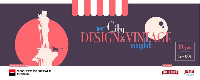 City Vintage night Noć dizajnerskih i vintage prodavnica