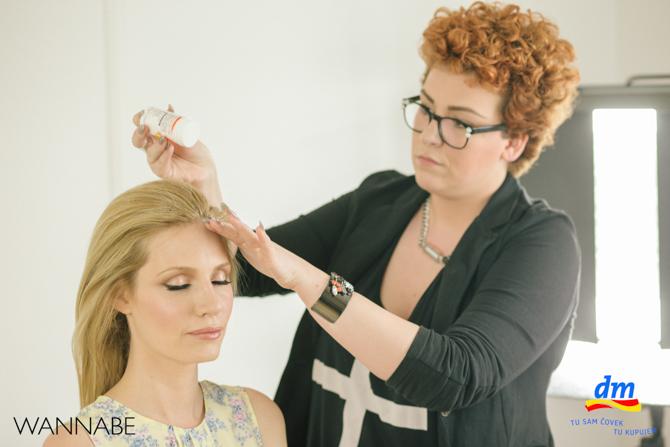 DM make up tutorijal Marko Nikolic Wannabe magazine 461 dm look Ostavi dobar utisak tutorijal: Frizura