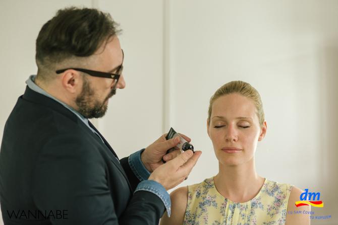 DM make up tutorijal Marko Nikolic Wannabe magazine dm look Ostavi dobar utisak tutorijal: Šminka