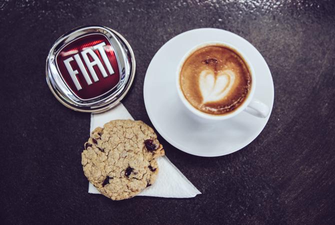 Fiat 6 Dolce Vita vodič kroz Beograd: Kafa na italijanski način