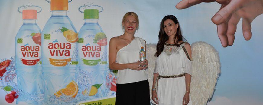 Božanstvena pojava najavila AQUA VIVA vodu sa ukusima voća