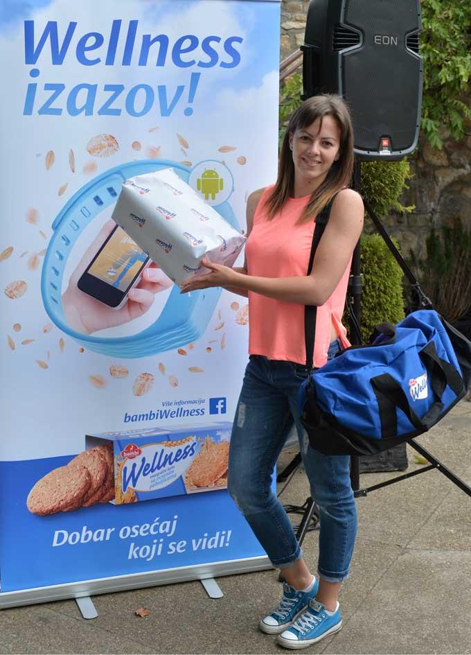 Milica Milinovic pobednica Wellness izazova 1 Završen Wellness izazov