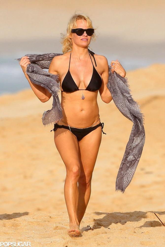 Pamela Anderson 47 One imaju preko 40 i izgledaju sjajno u bikiniju