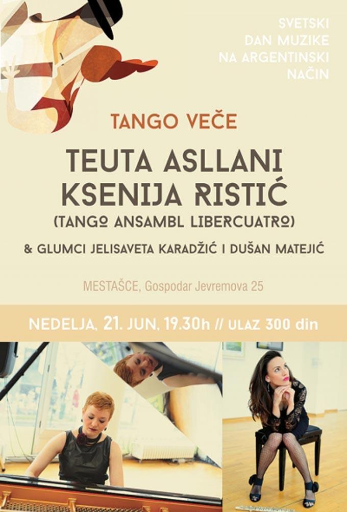 Teuta Xenia POSTER Svetski dan muzike 2015 Svetski dan muzike na argentinski način