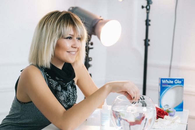 White Glo beauty predlog Wannabe magazine Like a Blondie Katarina Veljkovic 12 White Glo sistem za izbeljivanje zuba tutorijal