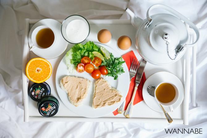 Yuhor Delicata Wannabe magazine predlog 10 Zajednički doručak za zaljubljene