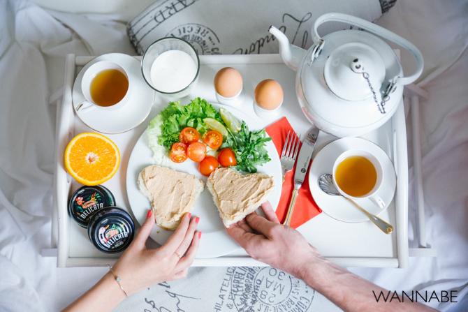 Yuhor Delicata Wannabe magazine predlog 12 Zajednički doručak za zaljubljene
