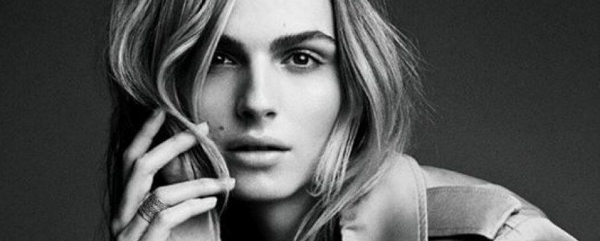 Prva beauty kampanja Andreje Pejić