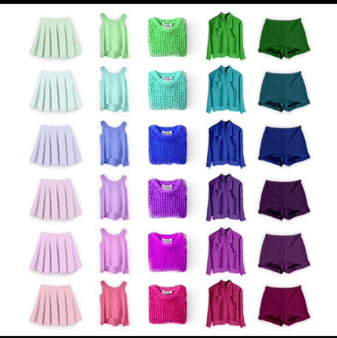 boja garderobe prema boji tena 1 Kako da biraš odevne komade prema boji svog tena
