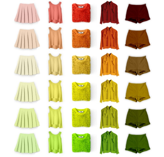 boja garderobe prema boji tena 2 Kako da biraš odevne komade prema boji svog tena