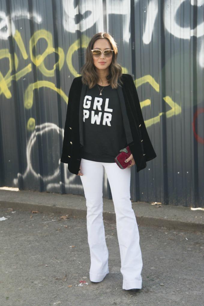 dzins bele boje 1 Kako da nosite džins bele boje ovog leta