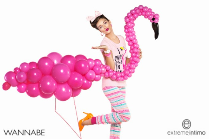 extreme intimo 1 Extreme Intimo modni predlog: Flamingosi za veselo proleće