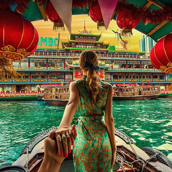 follow me to hong kong Par koji se vodi za ruku po svetu se venčao