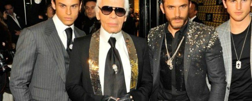 Ovaj frajer čuva Karla Lagerfelda