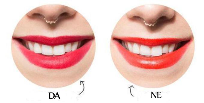 karmin beli zubi 11 Nijanse karmina sa kojima će vam zubi izgledati belje
