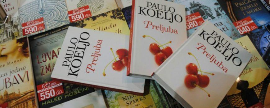 """Sa knjigama na ti: """"Preljuba"""" Paulo Koeljo"""
