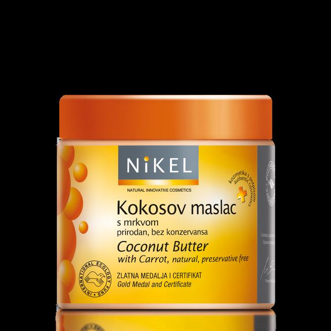 kokosov maslac mrkva Beauty must have: Nikelov kokosov maslac sa šargarepom